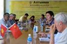 Компания «Кыргызалтын» посетила «Алтынкен»