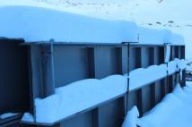 Толщина снежного покрова