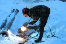 Строительные работы вентиляционного ствола исходящей струи в урочище Талды-Булак 2