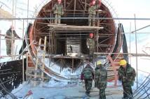 Строительство воздушного канала 3